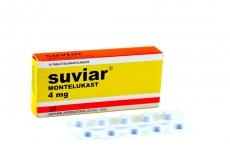 Suviar 4 mg Caja Con 10 Tabletas Masticables Rx