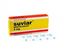 Suviar 4 mg Caja Con 30 Tabletas Masticables  Rx
