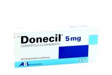 Donecil 5 mg Caja Con 30 Comprimidos Recubiertos Rx4