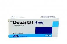 Dezartal 6 mg Caja Con 10 Comprimidos Rx