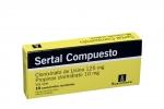 Sertal Compuesto 125 / 10 mg Caja Con 10 Comprimidos Rx