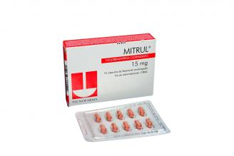 Mitrul 15 mg Caja X 10 Cápsulas de Liberación Prolongada Rx