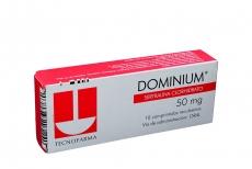 Dominium 50 mg Caja Con 10 Comprimidos Recubiertos Rx4