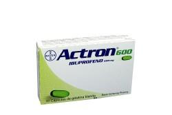 Actron 600 mg Caja X 10 Cápsulas Rx