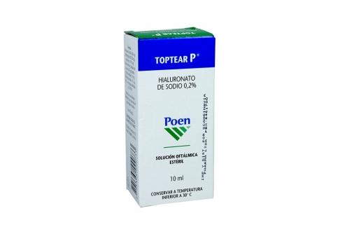 Toptear P Solución Caja Con Frasco X 10 mL