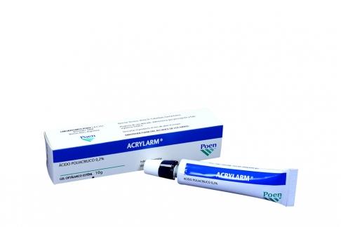 Acrylarm 0,2% Gel Tubo x 10 g Rx