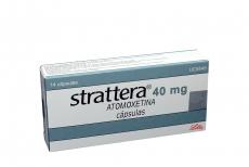 Strattera 40 mg Caja Con 14 Cápsulas Rx4