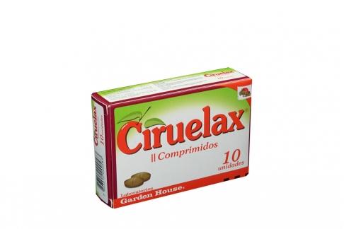 Ciruelax Caja Con 10 Comprimidos