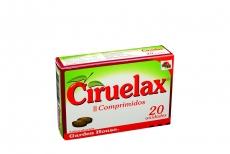 Ciruelax II Caja Con 20 Comprimidos