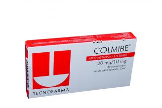 Colmibe 20 / 10 mg Caja Con 30 Comprimidos Rx