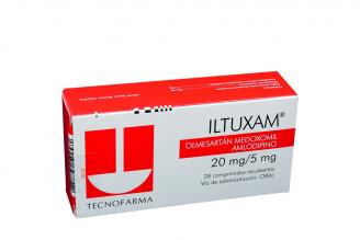 Iltuxam 20 / 5 mg Caja Con 28 Comprimidos Rx