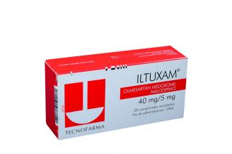 Iltuxam 40 / 5 mg Caja Con 28 Comprimidos Rx