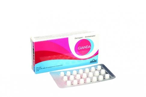 Gianda Caja x 21 Comprimidos Recubiertos Rx