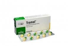 Tramal 50 mg Caja Con 10 Cápsulas Rx