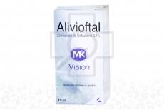 Alivioftal Mk Solución Estéril Caja Con Frasco x 15 mL Rx