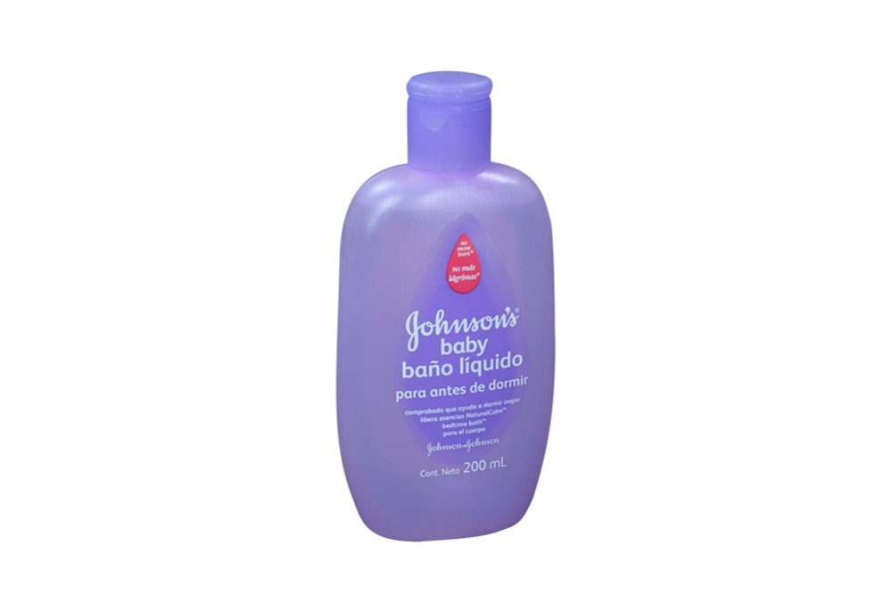 Baño Liquido Johnson´s Baby Frasco Con 200 mL
