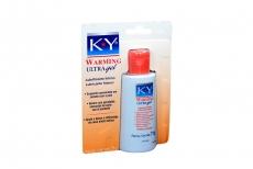 Gel Lubricante K.Y Warming Empaque Con Frasco Con 71 g