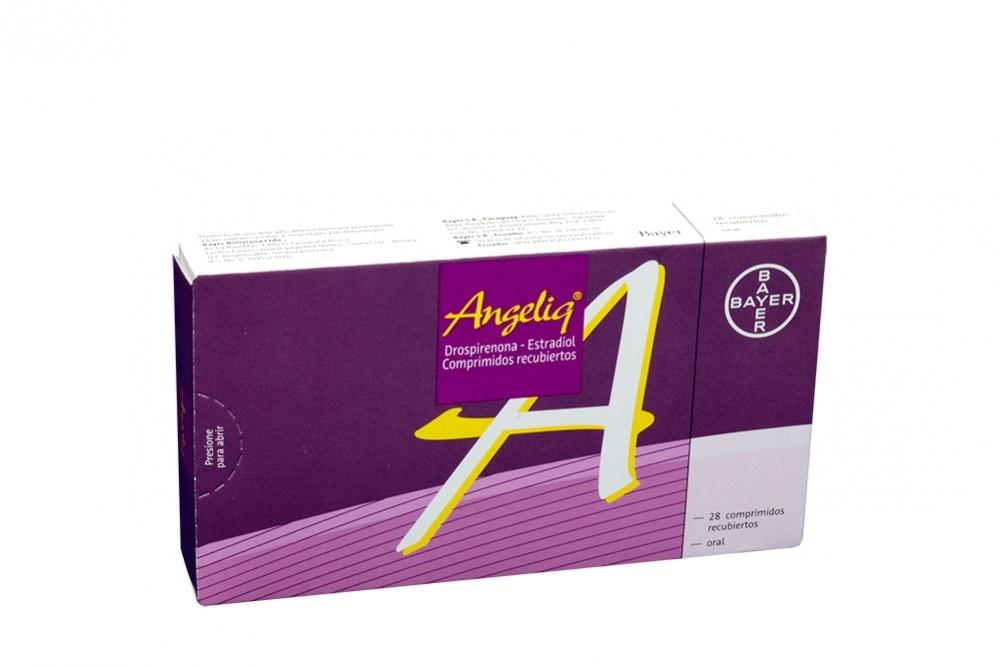 Angeliq Caja Con 28 Comprimidos Recubiertos Rx