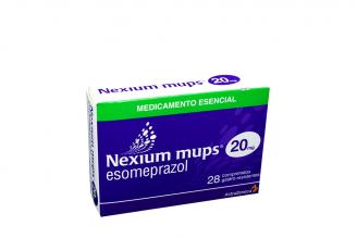 Nexium Mups 20 mg Caja Con 28 Comprimidos Rx