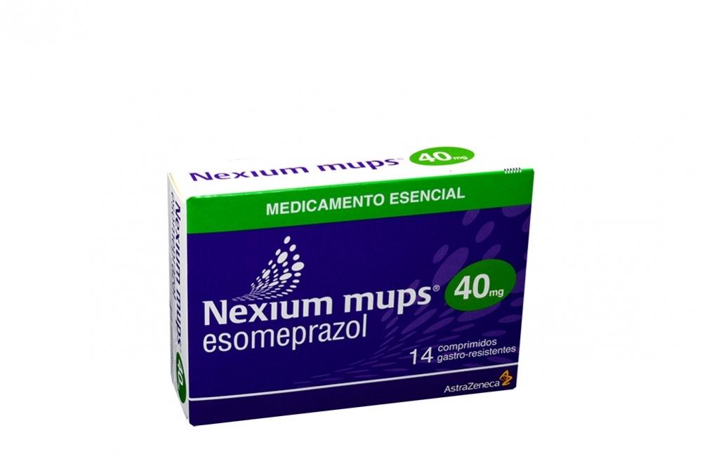 Nexium Mups 40 mg Caja Con 14 Comprimidos Rx