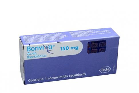 Bonviva 150 mg Caja Con 1 Comprimido Recubierto Rx4