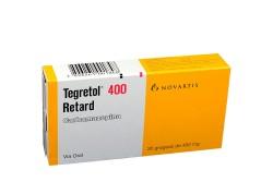 Tegretol Retard 400 mg Caja Con 20 Grageas Rx4