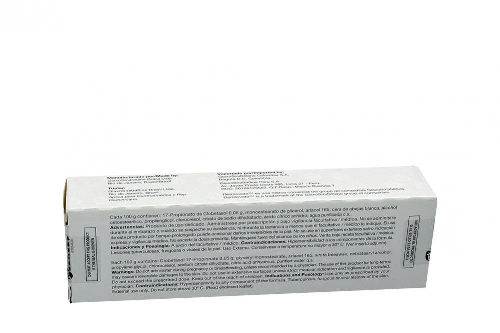 GSK - DERMOVATE 0,5% - DERMOVATE 0,5% TUBO X 30 G - DERMATITIS