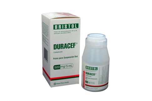 Duracef 500 mg / 5 mL Caja Con Frasco Con 80 mL Rx2