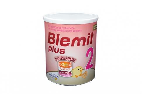 Blemil Plus 2 Nutriexpert En Polvo Lactantes Tarro Con 800 g
