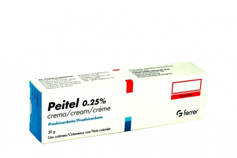 Peitel Crema 0.25% Caja Con Tubo x 30 g RX