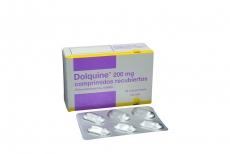 Dolquine 200 mg Caja Con 30 Comprimidos Rx4