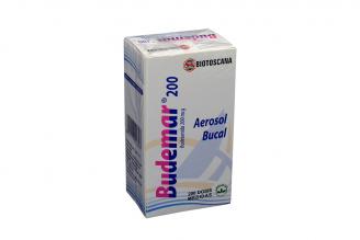 Budemar Bucal 200 mcg Caja Con Aerosol  200 Dosis Rx4