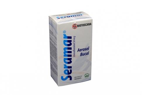 Seramar 50 mcg Caja Con Inhalador X 200 Dosis Rx