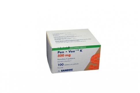 Pen Vee K 500 mg Caja Con 100 Tabletas Con Pelicula  Rx