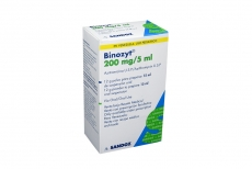 Binozyt 200 mg / 5 mL Frasco x 15 mL Rx2