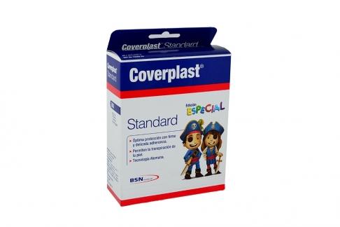 Curas Coverplast Figuras Caja Con 200 Unidades