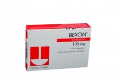 Bexon 100 mg Caja Con 3 Óvulos Vaginales Rx2