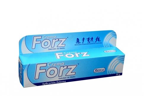 Crema Forz Frasco Con 30 g