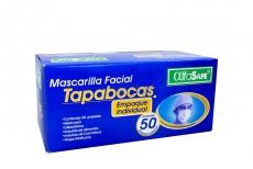 Tapabocas Desechable Caja Con 50 Unidades