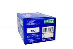 Tapaboca Desechable Azul Caja Con 50 Unidades