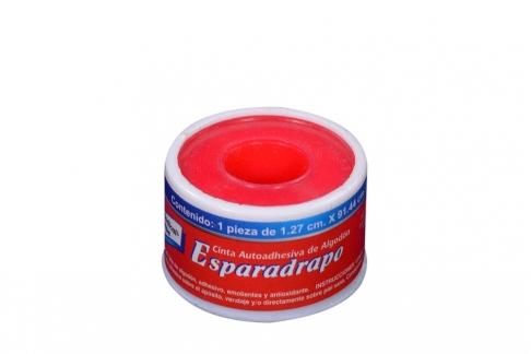Esparadrapo Tape Tela ½ X 1 Yds Caja Con 24 Unidades