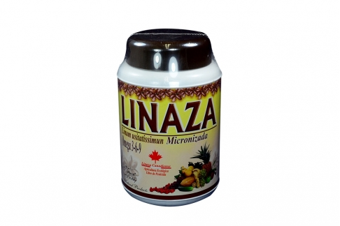 Linaza Micronizada Omega 3-6-9 Frasco Con 500 g
