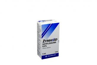 Zymaxid 5 mg Solución Oftálmica Caja Con Frasco Gotero Con 5 mL Rx