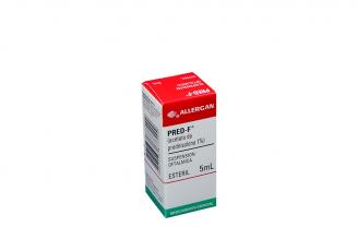 Pred-F 1% Caja Con Frasco x 5 mL Rx