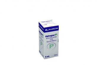 Alphagan P 0.15 % Gotas Oftálmicas Caja Con Frasco Con 5 mL Rx