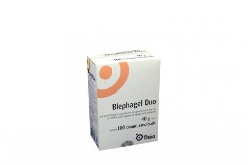 Blephagel Duo Lutrol 5.0 g Caja Con Tubo Con 40 g De 100 Compresas