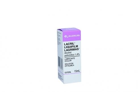 Lacril Solución Caja Con Frasco X 15 mL RX