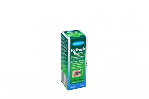 Refresh Tears Caja Con Frasco Con 10 mL