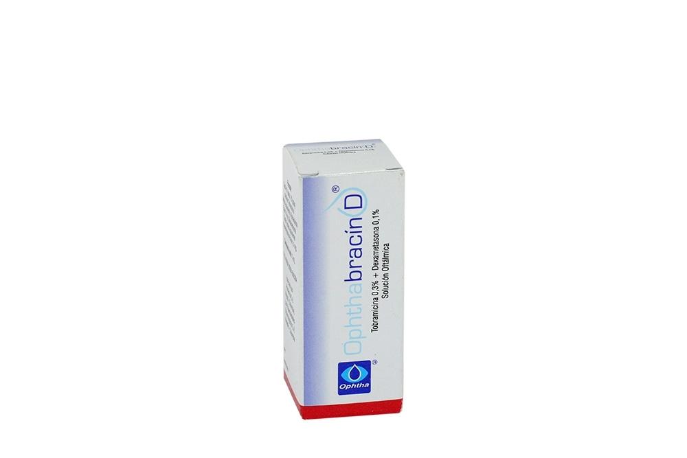 Ophthabracin D Caja Con Frasco Gotero Con 5 mL Rx