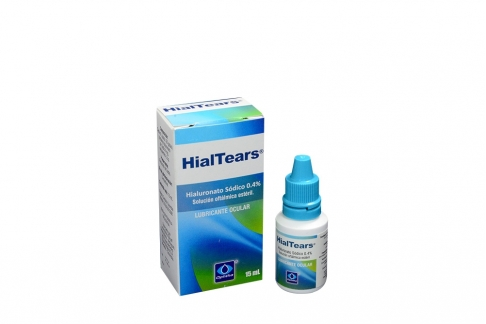 Hialtears Frasco x 15 mL Solución Oftálmica